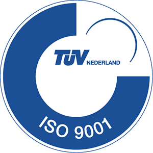 TUV ISO 9001 certification logo